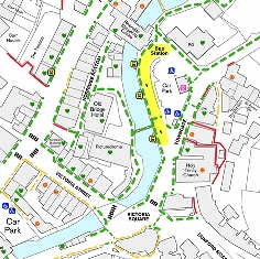Holmfirth Step-Free Access Map
