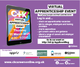 2021 Online Apprenticeship Event for Young People